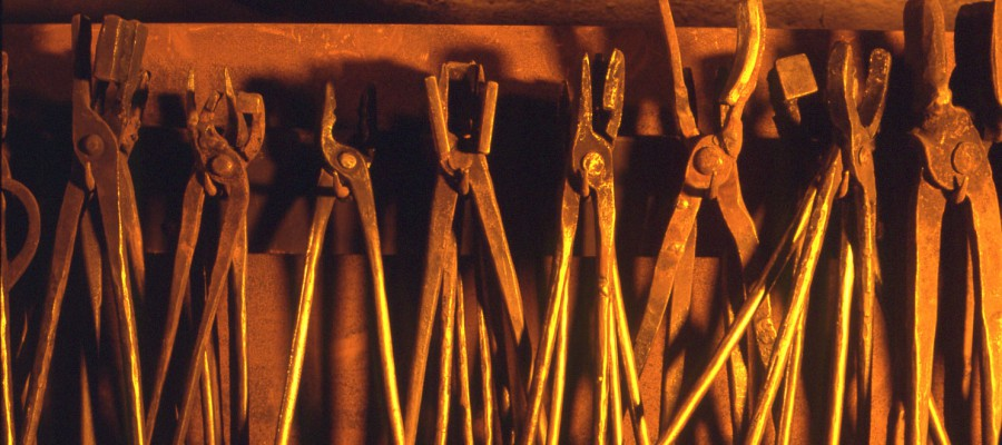 Schmiede Werkzeug Handwerk