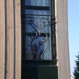 Fenstergitter modern schlicht