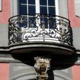 Palast Geländer