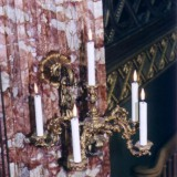 Kerzenhalter Kerzenständer restauriert