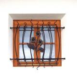 Gitter Fenster Blume