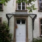 Restaurierung Vordach