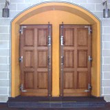 geschmiedete Türbeschlage stabil