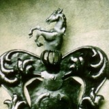 Wappen massiv Handarbeit