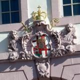 Wappen blattvergoldet