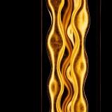 moderne Lampe Leuchte Goldlicht