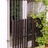 Gitter bodentiefe Fenster