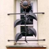 Geschmiedetes Fenstergitter