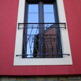 Geschmiedeter französischer Balkon