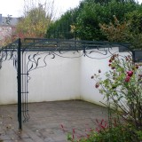 Pergola Metall Garten